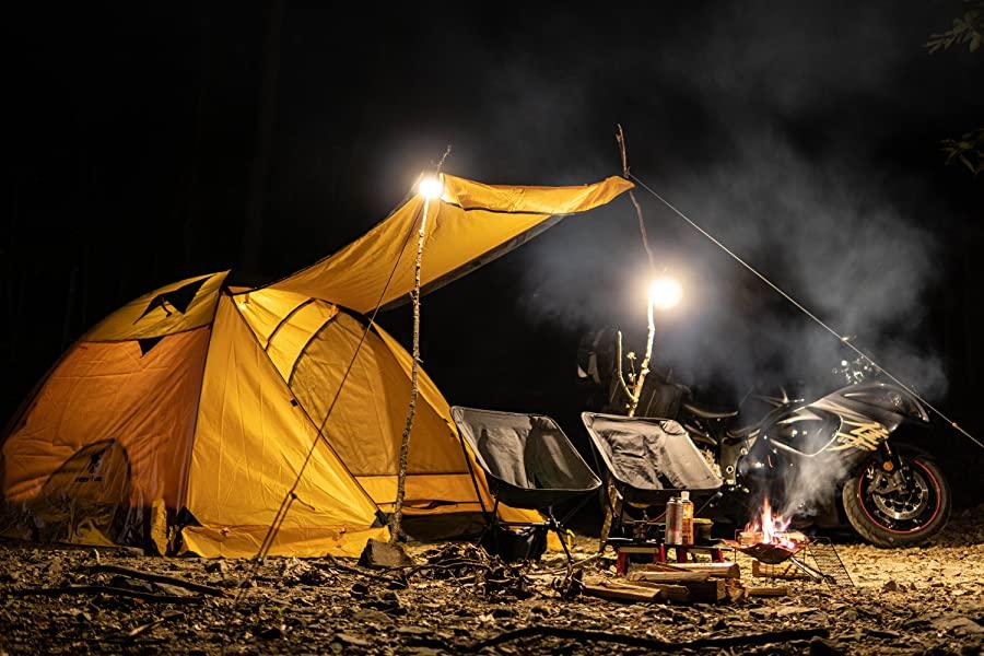 GeerTop 2-4人用 4シーズンテント 二重層構造 PU5000MM